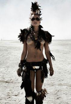 Warrioress goddess @ burning man