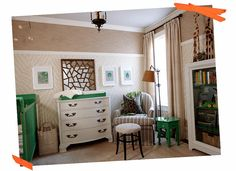 Sarah Richardson Design Tribal Nursery