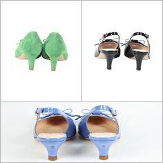 Kitten shoes, daniele tucci le propone in versione colorata, per uno stile estroverso, allegro, solare e divertente.