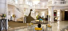 St Ermin's lobby  -- remember this? Lemon squash in the lobby, and later another day, roast beef and Yorkshire pudding in the carvery for dinner.