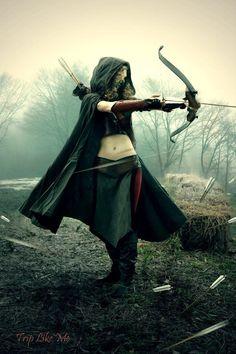 Ithiliean Rangerette in Battle Cosplay by MickeyFlint on DeviantArt Warrior Girl, Fantasy Warrior, Warrior Princess, Warrior Women, Larp, Fantasy Characters, Female Characters, Fantasy World, Fantasy Art