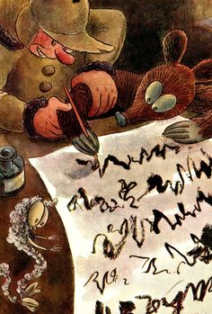 Kubula a Kuba Kubikula - druhé vydání (r.1948) Amazing Adventures, Teaching Kids, Illustration, Art, Cuba, Art Background, Illustrations, Kunst, Kids Study