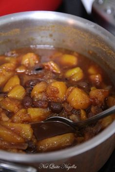 Make Your Own Mango Chutney from Not Quite Nigella
