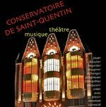 Programme du conservatoire musique et théâtre de Saint-Quentin