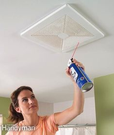 firefight wife, bathroom exhaust, cleanses, exhaust fan, household, fans, dust, bathrooms, cleaning tips