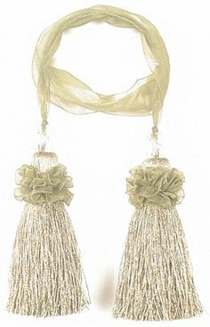 Chair Tie 24' (Pack of 6) Ghazal Sage *** Find out more details by clicking the image : Home Decor Tassels