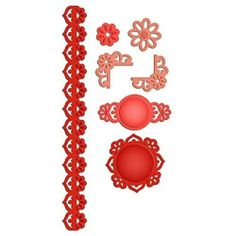 Spellbinders Floral Doily Accents S5-040