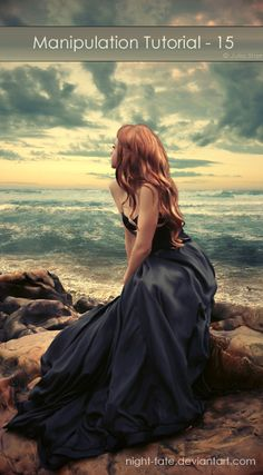 i love the picture. she looks like a mermaid.  tutorials for magnificently dramatic photos