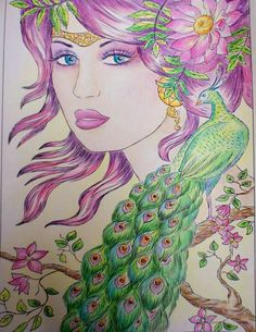 Coloring by Fans Fairies. Line Art  available on Amazon http://www.amazon.com/dp/1540644685