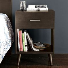 Adams Nightstand - Chocolate | west elm $119.00