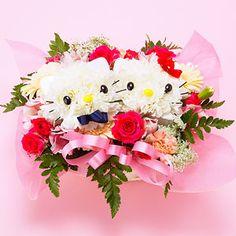 Hello Kitty wedding flowers