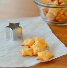 Gluten-Free Cheddar Crackers