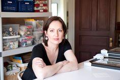 Sharon Deery, artist   Photo by Paula Jansen for the Nov/Dec/Jan '11 issue of Where Women Create