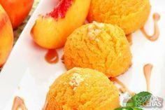 Receita de Sorvete cremoso de manga - Comida e Receitas