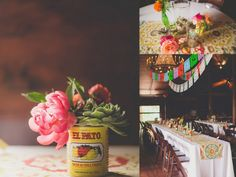 Fiesta Themed wedding at Howell Family Farms photographed by Nbarrett Photography — Dallas-Fort Worth Wedding Planning Studio https://www.etsy.com/listing/61912048/mexican-wedding-banners-dos-palomas-3?ref=shop_home_active