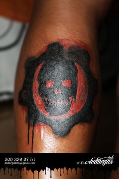 1000 images about nicks tattoo on pinterest gears of for Gears of war logo tattoo