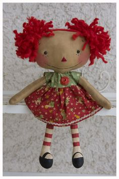 Raggedy Anne! doll in my story. I need to make this for Misty Brown!