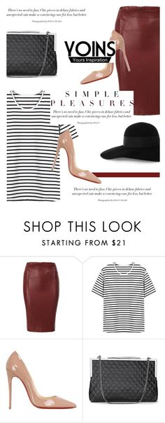 """""""Good Life with Yoins #10"""" by antemore-765 ❤ liked on Polyvore featuring Christian Louboutin, Eugenia Kim, MustHave, fall2015 and yoins"""