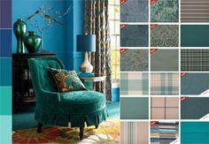 2015 Интерьерные ткани, для штор, обивка мебели бирюзовый, голубой, фиолетовый цвета. Interior fabrics for curtains, upholstery, turquoise, blue, purple.http://interior-fabrics.com.ua/