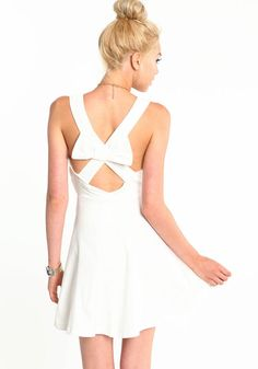 LOVELY DAY BOW DRESS $29.95