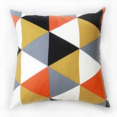 Set of 2 Modern Style High Quality Geometric Printing  Pillow Cover (16*16 inch) – CAD $ 19.45