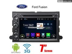 Ford Fusion Android 4.4 Car WIFI 3G Radio DVD GPS Player multimedia