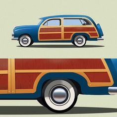 Little something I'm working on. Think it's coming along well. ⛽️ Vroom vroom!  #illustration #vector #thedesigntip #thevectorproject #illustrator #adobe #graphic #design #graphicdesign #art #vectorart #WIP #woodywagon #classiccars #plymouth