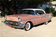 old cars vintage classic Bel Air Car, 1957 Chevy Bel Air, Chevrolet Bel Air, Chevrolet Impala, Vintage Chevy Trucks, Ford Trucks, Vintage Cars, Antique Cars, Antique Trucks