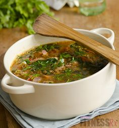 Protein Vegetable Soup: A Simple, high-nutrition recipe! Try it tonight.