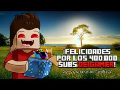 ESPECIAL 400.000 SUBS | RAP (By DeiGamer) -1 año en YOUTUBE- REPINED by:DaveGamer