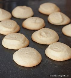 Galletas de mantequilla de Tineo