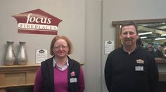 Liz and Julian of Focus Fireplaces, Stockton on the Forest Focus Fireplaces, Fire Surround, Log Burner, Gas And Electric, Wet Rooms, Charity, Cycling, Fabrics, Gardens