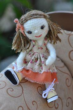 Crochet Dolly by Tiny Paws™, via Flickr