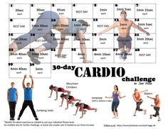 30 Day Challenge - Cardio