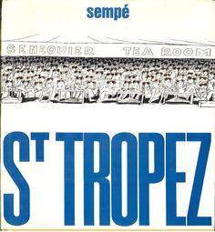 Saint Tropez, par Sempé