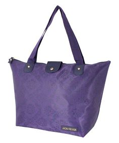 Another great find on #zulily! Purple Foldable Tote Bag #zulilyfinds