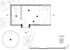 Forest House,plan