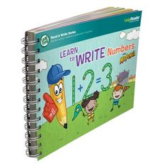 Christmas 2015 gift for our granddaughter. LeapFrog LeapReader Writing Workbook: Learn to Write Numbers with Mr. Pencil LeapFrog, Bought this learning tool to use with the LeapFrog Learn to Write with Mr. Pencil Stylus & Writing App