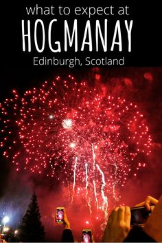 What to expect at Hogmanay in Edinburgh, Scotland. A truly mazing New Years Eve festival, that should be on everyone's bucket list. An expat bloggers guide to new years eve at Hogmanay.