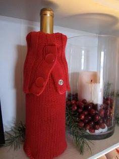 DIY Wine Bottle Sleeve DIY Clothes DIY Refashion DIY Sweater