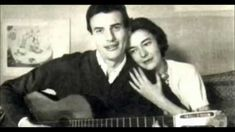 Christine Sèvres et Jean Ferrat : Nous dormirons ensemble Jean Ferrat, Louis Aragon, Pop Music, Nostalgia, Singing, Maurice, Youtube, Stage, Films