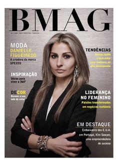 Revista de Empreendedorismo e Lifestyle para Mulheres de Alto Desempenho - Capa de Revista: Danielle Figueiredo
