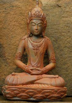 Amitabha Buddha Garden Statue - Buddha Garden Statues garden statues