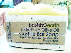 Bambu Earth Eco Soap Packaged in Seeded Paper that Grows Basil