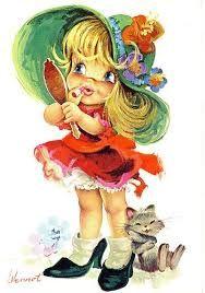 Resultado de imagem para ilustrações infantis vintage