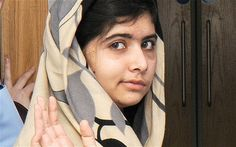 Malala Yousafzai, beautiful young girl from Pakistan, Activist for the Right of Education of Women and young girls around the world, namely~ Pakistan