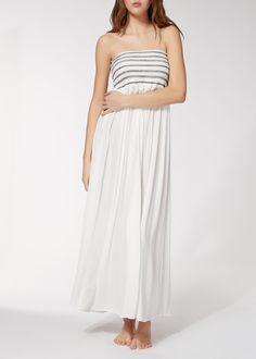 Длинное Платье с Буфами - Calzedonia