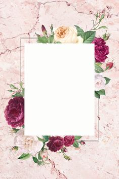 Discover thousands of free-copyright vectors on Freepik Flower Background Wallpaper, Collage Background, Framed Wallpaper, Cute Wallpaper Backgrounds, Flower Backgrounds, Backgrounds Free, Polaroid Picture Frame, Instagram Frame Template, Photo Collage Template