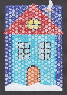 1509 best kids - winter activities images in 2019 Winter Activities For Kids, Winter Crafts For Kids, Winter Fun, Art For Kids, Kindergarten Art Lessons, Art Lessons Elementary, Winter Art Projects, Winter Project, Winter Thema