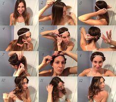 Hair Tutorial: 5-Minute Overnight Headband Curls